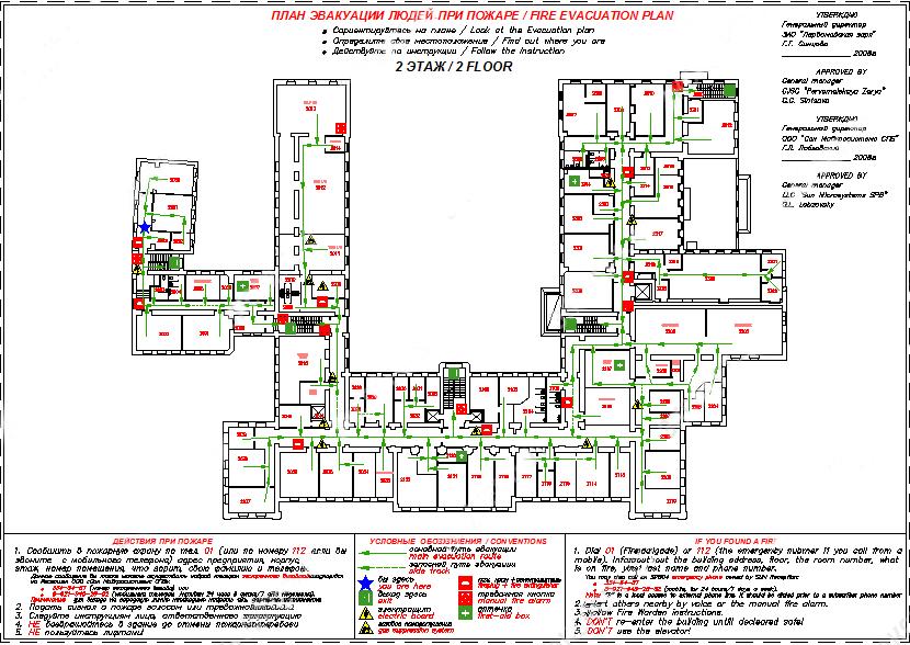 План евакуації при пожежі за допомогою microsoft visio корисні.